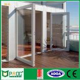 Aluminiumflügelfenster-Tür As2047 bestätigte gebildet in China