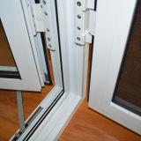 Openslaand raam het van uitstekende kwaliteit van het Profiel van het Aluminium met het Scherm K03026 van het Roestvrij staal