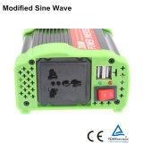 CC astuta di 300W 12V/24V/48V all'invertitore modificato 110V/220V/230V di potere di onda di seno di CA