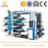 Machine à imprimer flexo à 6 couleurs PP / non tissé