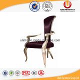 De hete Verkopende Stapelbare Stoel Van uitstekende kwaliteit van het Aluminium van het Restaurant (ul-DC203)