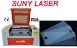 Het perfecte Knipsel vloeit Snijder van de Laser van de Beschermer van het Scherm 60*40cm 50W voort