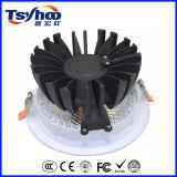 8 diodo emissor de luz de fundição Downlight do alumínio da ESPIGA da polegada 30W