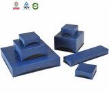 Изготовленный на заказ установленные коробки ювелирных изделий бумаги Leatherette