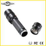 Stoßfeste LED Handfackel der langfristigen Zeit-/Aluminiumtaschenlampe (NK-1865)