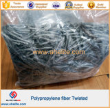 Twisted Polypropylene Fiber для Concrete Reinforcement