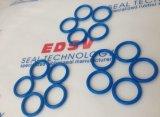 Joint circulaire/joint circulaire bleus de silicium de silicone