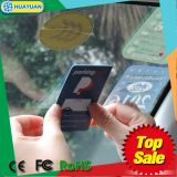 Cartão do estacionamento do TAG do pára-brisa da freqüência ultraelevada de EPC1 GEN2 RFID com código de QR