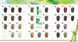 De Kleurstof van het Haar van Colornaturals van de Zorg van het Haar van Tazol (Donkere Bruin) (50ml+50ml)