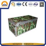 カスタマイズされた収納箱のアルミニウム箱のカムフラージュパターンまたは赤くか青の工具箱(HF-1208)