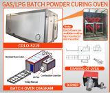 Polvere in lotti di /LPG /Diesel del gas che cura forno