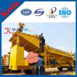 Подвижная золотопромывочная машина