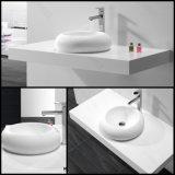 Waschendes Wannen-festes Oberflächenbadezimmer über Gegenbassin