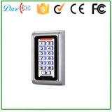 Regolatore autonomo 2000 di accesso del metallo di identificazione di Em dell'utente 125kHz del portello impermeabile della tastiera RFID
