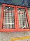 열로 끊긴 단면도를 가진 알루미늄 여닫이 창 Windows
