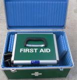 Trousse de premiers secours en métal médical commode