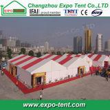Großes temporäres im Freienausstellung-Zelt