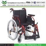 Plegable, silla de ruedas manual duradera para personas mayores