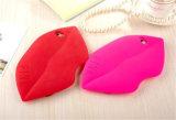 "caixa cor-de-rosa ""sexy"" do telefone móvel do silicone dos bordos 3D para LG G4 (XSF-014)"