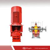 モーターおよびエンジンを搭載するULの消火活動の水ポンプ
