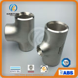 Acier inoxydable réduisant l'ajustage de précision de pipe du té Wp304/304L avec du ce (KT0035)