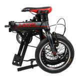 bici de 8.5kg Foldup freno del marco V de la aleación de 14 pulgadas