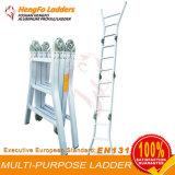 Escada do alumínio da escada da finalidade de 4*3 Workplatform multi