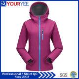 Softshell der Qualitäts-Frauen Umhüllungen-moderne Oberbekleidung (YRK114)