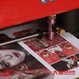 Impresora de la etiqueta engomada del caso del diseño 3D con software móvil de la piel del caso