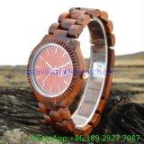 Relógio quente de Swooden da forma, o melhor relógio Ja- 15054 da qualidade