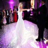 vidrio Tempered portable LED iluminado Dance Floor para la boda
