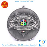 Медаль пожалования сувенира эмали серебра 3D OEM античное
