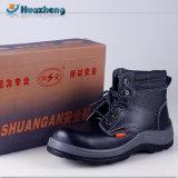 Sapatas de isolamento da segurança do couro genuíno de preço de fábrica de China
