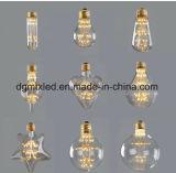 L'ampoule d'Edison DEL de cru de Dimmable, le type antique E26 4W de l'ampoule ST64 Edison d'éclairage LED de cru de 4W 40W ST64 DEL BulbLuxon chauffent 2700k blanc