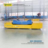 Carrello di sollevamento idraulico elettrico del trasportatore del piatto d'acciaio