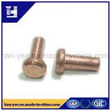 高品質の鋼鉄固体ステップリベット