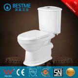 Toilette en deux pièces pertinente élevée de lavage à grande eau avec le meilleur prix (BC-1316)