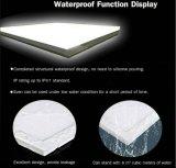 IP65 Waterproof a luz de painel do diodo emissor de luz para a utilização ao ar livre com 100lm/W