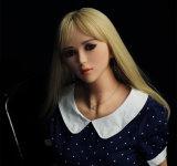 Sapm59Aの生命によって大きさで分類されるシリコーンの性の人形の金属の骨組実質の感じ愛人形