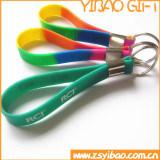 Изготовленный на заказ подарок ювелирных изделий PVC Keychain Silconne (YB-HD-04)