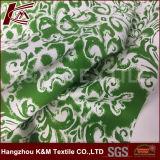 Tissu de coton en soie en soie de Spandex du tissu de mélange de coton de Spandex de fleur 94%Cotton 6%