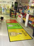 Recubrimiento ULTRAVIOLETA de la etiqueta engomada del suelo del vinilo de la protección de interior/etiqueta engomada de los gráficos del suelo