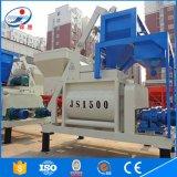 malaxeur concret de la capacité 75m3/H avec le mélangeur concret de la qualité Js1500