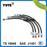 Yute DOT Flexible Hydraulic Rubber Brake Hose pour Auto Parts