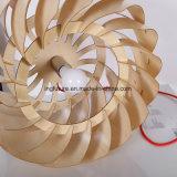 De geassembleerde Authentieke Lamp van de Tegenhanger van de Windmolen Uroborus van het Ontwerp Houten