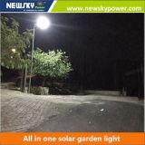 1개의 LED 태양 가로등에서 모두를 점화하는 옥외 빛 정원