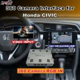 Relação da vista traseira & do panorama 360 para o acordo 2016 de Honda Civic com a tela do molde da entrada de sinal de Lvds RGB