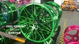 도금 기계가 파랑에 의하여, 은, 금, Rosegold 컬러 휠 허브 자전관 침을 튀긴다