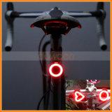 Inner-Knochen-Form USB, der hinteres Fahrrad-Licht des Endstück-LED auflädt