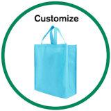 Il marchio su ordinazione ha fatto i sacchetti di acquisto stampati plastica pieganti riutilizzabili